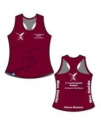 Falcon Runners CS Donna Forte Bella Racerback Singlet